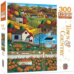 Master Pieces Town & Country Pumpkin Patch Puzzle